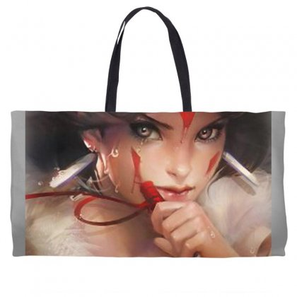 Wolf Princess Anime Weekender Totes Designed By Oktaviany
