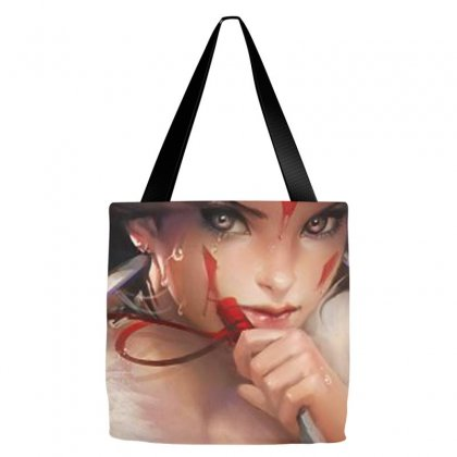 Wolf Princess Anime Tote Bags Designed By Oktaviany