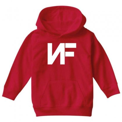 Nf Merchandise Youth Hoodie Designed By Oktaviany