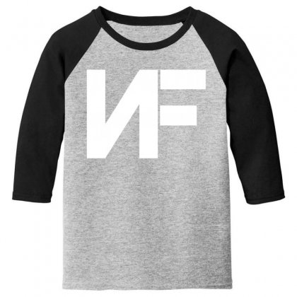 Nf Merchandise Youth 3/4 Sleeve Designed By Oktaviany