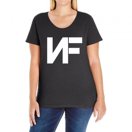 Nf Merchandise Ladies Curvy T-shirt Designed By Oktaviany