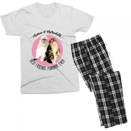 Olivia And Meredith Best Friends Men's T-shirt Pajama Set Designed By Oktaviany