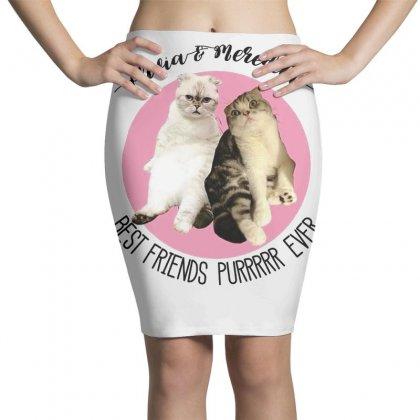 Olivia And Meredith Best Friends Pencil Skirts Designed By Oktaviany