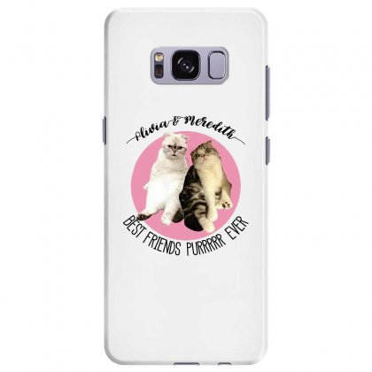 Olivia And Meredith Best Friends Samsung Galaxy S8 Plus Case Designed By Oktaviany