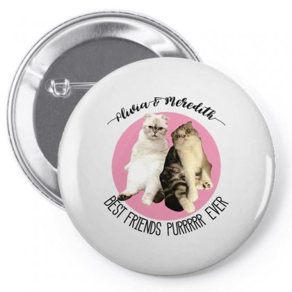 Olivia And Meredith Best Friends Pin-back Button Designed By Oktaviany