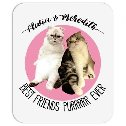 Olivia And Meredith Best Friends Mousepad Designed By Oktaviany