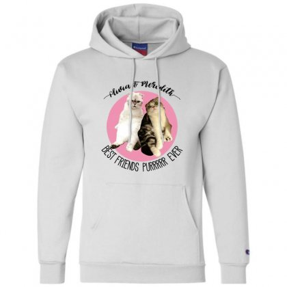 Olivia And Meredith Best Friends Champion Hoodie Designed By Oktaviany