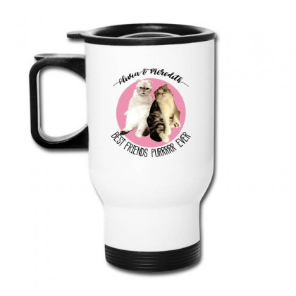 Olivia And Meredith Best Friends Travel Mug Designed By Oktaviany