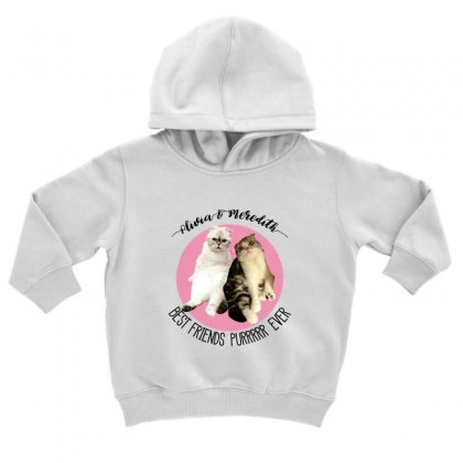 Olivia And Meredith Best Friends Toddler Hoodie Designed By Oktaviany