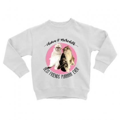 Olivia And Meredith Best Friends Toddler Sweatshirt Designed By Oktaviany