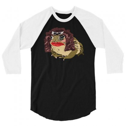 Glamour Toad 3/4 Sleeve Shirt Designed By Fanshirt