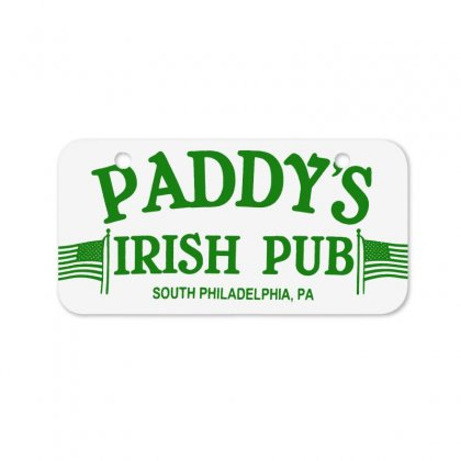 Paddy Irish Pub Bicycle License Plate Designed By Oktaviany