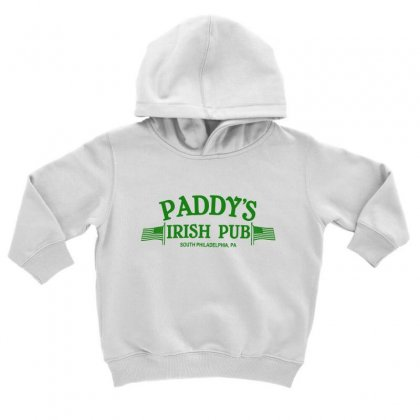 Paddy Irish Pub Toddler Hoodie Designed By Oktaviany