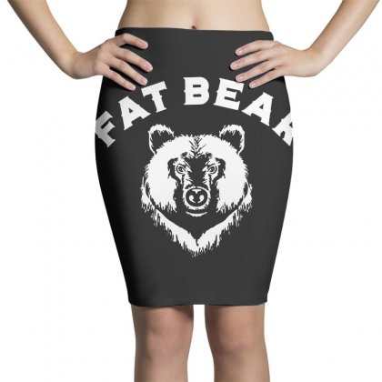 Protect Fat Bears Pencil Skirts Designed By Oktaviany