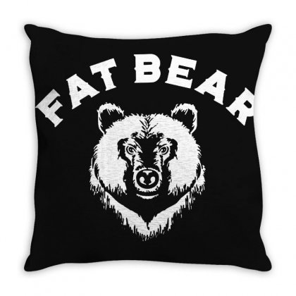 Protect Fat Bears Throw Pillow Designed By Oktaviany