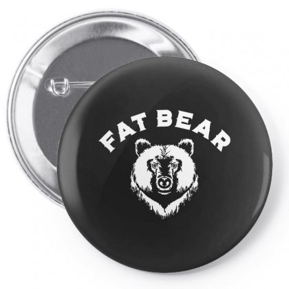 Protect Fat Bears Pin-back Button Designed By Oktaviany
