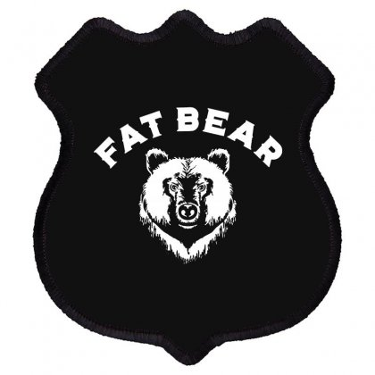 Protect Fat Bears Shield Patch Designed By Oktaviany
