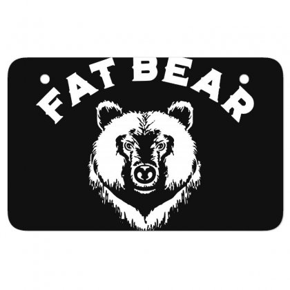 Protect Fat Bears Atv License Plate Designed By Oktaviany