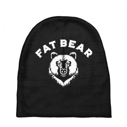 Protect Fat Bears Baby Beanies Designed By Oktaviany
