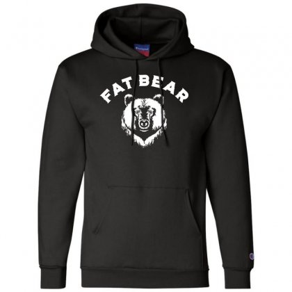 Protect Fat Bears Champion Hoodie Designed By Oktaviany