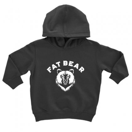 Protect Fat Bears Toddler Hoodie Designed By Oktaviany