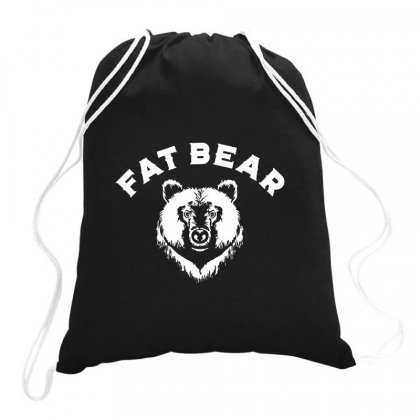 Protect Fat Bears Drawstring Bags Designed By Oktaviany