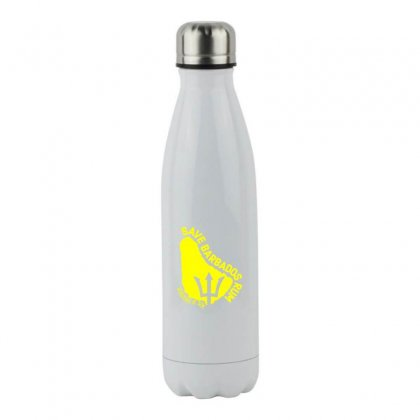 Save The Barbados Stainless Steel Water Bottle Designed By Oktaviany