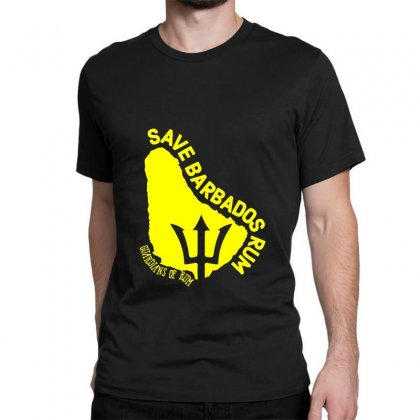 Save The Barbados Classic T-shirt Designed By Oktaviany