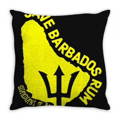 Save The Barbados Throw Pillow Designed By Oktaviany