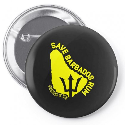 Save The Barbados Pin-back Button Designed By Oktaviany
