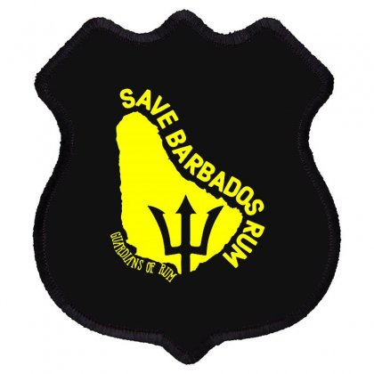 Save The Barbados Shield Patch Designed By Oktaviany