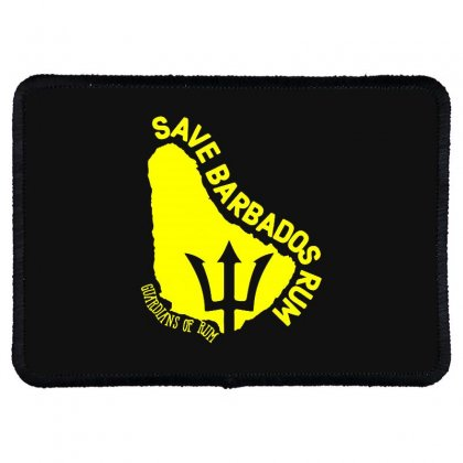 Save The Barbados Rectangle Patch Designed By Oktaviany