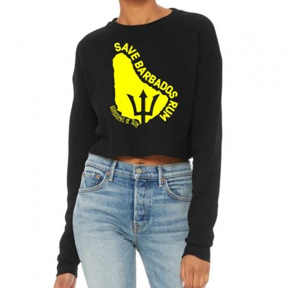 Save The Barbados Cropped Sweater Designed By Oktaviany