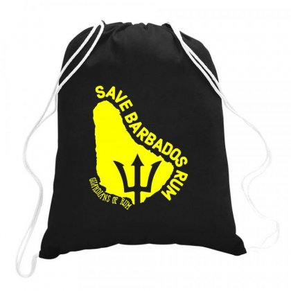 Save The Barbados Drawstring Bags Designed By Oktaviany