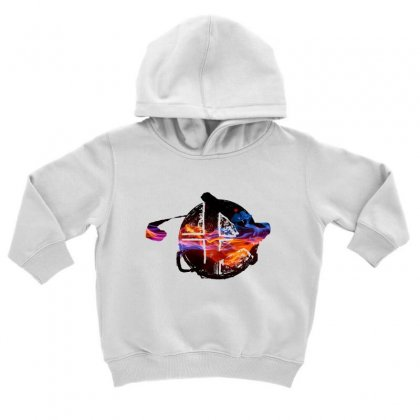Smash Ball Bros Toddler Hoodie Designed By Oktaviany