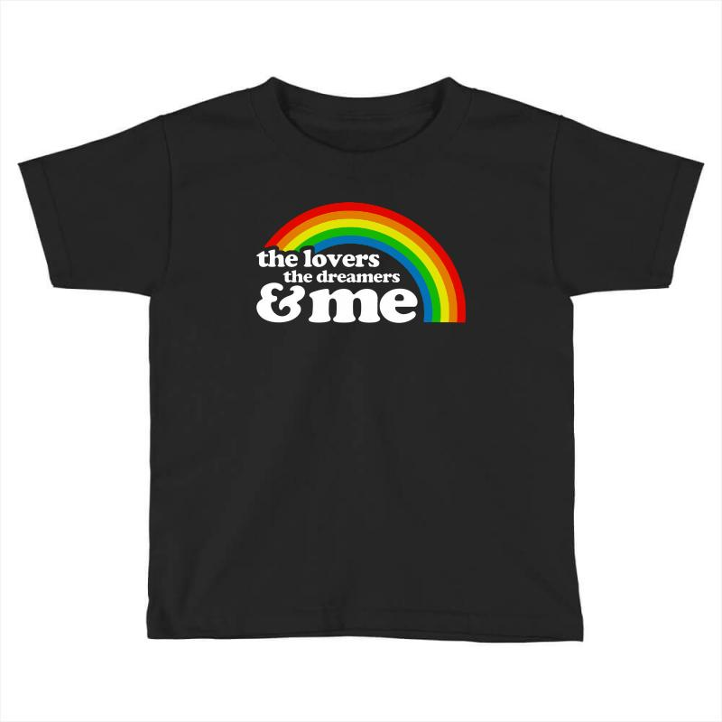 Rainbow The Lover The Dreamer And Me Toddler T-shirt | Artistshot