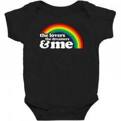 rainbow the lover the dreamer and me Baby Bodysuit | Artistshot