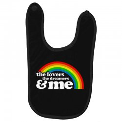 rainbow the lover the dreamer and me Baby Bibs | Artistshot