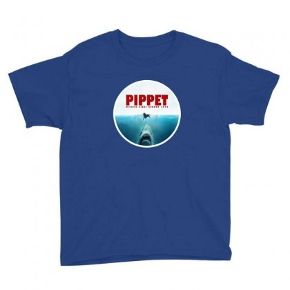 Jaws   Pippet Youth Tee Designed By Sr88
