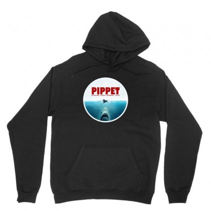 Jaws   Pippet Unisex Hoodie Designed By Sr88
