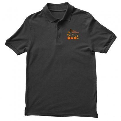 Happy Thanksgiving Men's Polo Shirt Designed By Zein