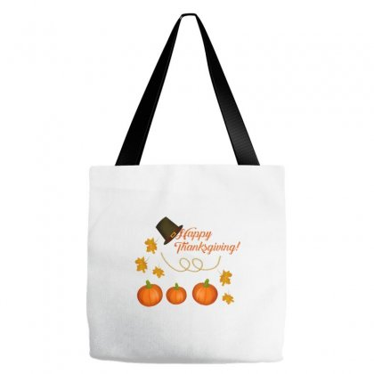 Happy Thanksgiving Tote Bags Designed By Zein