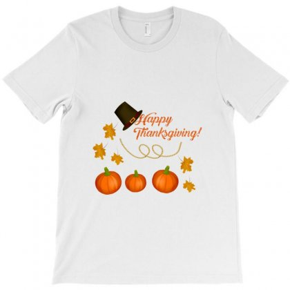 Happy Thanksgiving T-shirt Designed By Zein