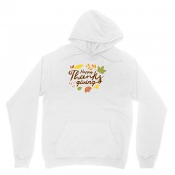 Happy Thanksgiving Unisex Hoodie Designed By Mdtees