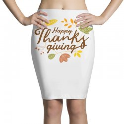 Happy Thanksgiving Pencil Skirts | Artistshot