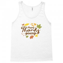 Happy Thanksgiving Tank Top | Artistshot
