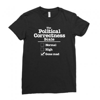 Political Correctness Gone Mad T Shirt Ladies Fitted T-shirt Designed By Erryshop
