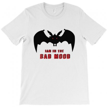 I Am In A Bat Mood   Black Bat T-shirt Designed By Ainazee Tees