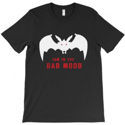 I Am In A Bat Mood T-shirt Designed By Ainazee Tees