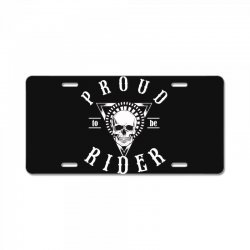 proud to be rider License Plate | Artistshot